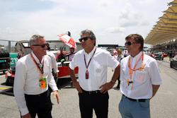 Marcello Lotti, CEO TCR with Jost Capito, Volswagen Motor Sport Director