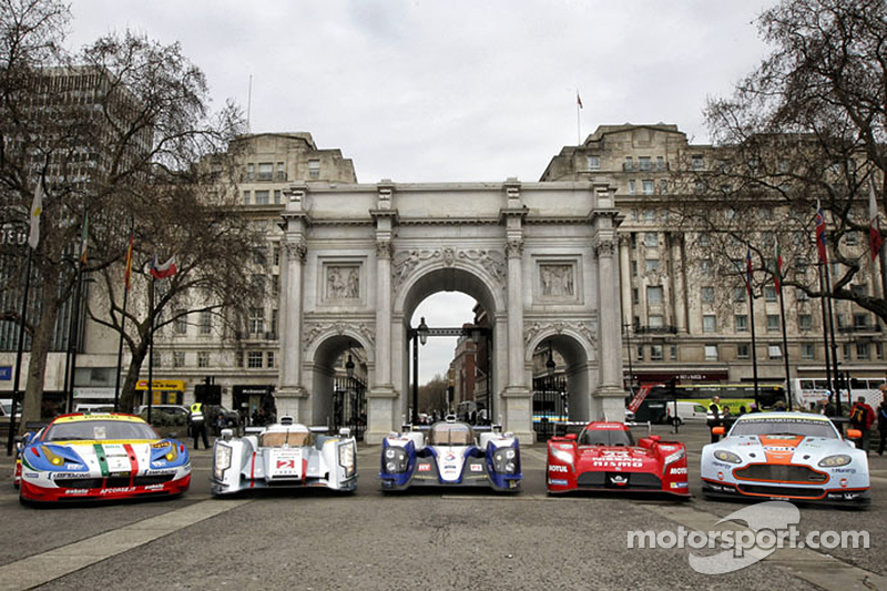 El Campeonato del Mundo de Resistencia llega al centro de Londres