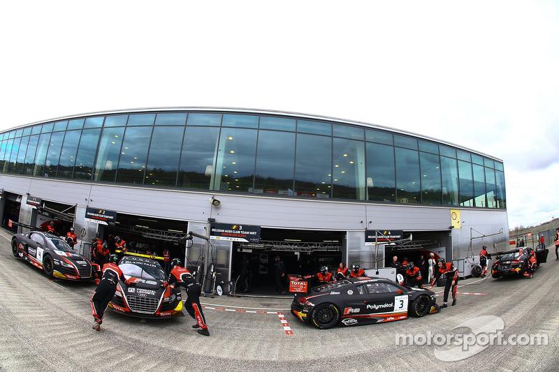 Belgian Audi Club Team WRT zona del equipo