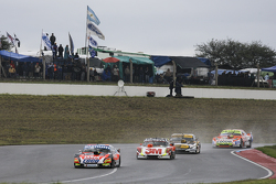 Guillermo Ortelli, JP Racing, Chevrolet; Mariano Werner, Werner Competicion, Ford; Leonel Pernia, Las Toscas Racing, Chevrolet, und Jonatan Castellano, Castellano Power Team, Dodge