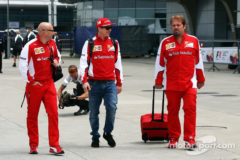 Mark Arnall, entrenador personal con Kimi Raikkonen, Ferrari y Gino Rosato, Ferrari