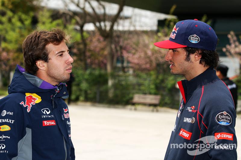 Antonio Felix da Costa, Red Bull Racing Test Driver dengan Carlos Sainz Jr., Scuderia Toro Rosso