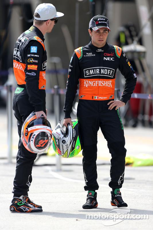 Ніко Хюлкенберг, Sahara Force India та Серхіо Перес, Sahara Force India