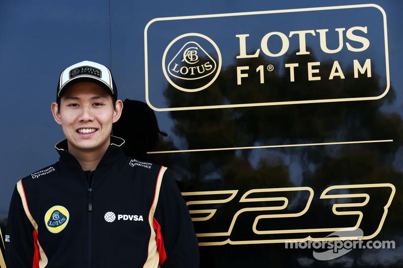 Adderly Fong, Lotus F1 Team, piloto en desarrollo
