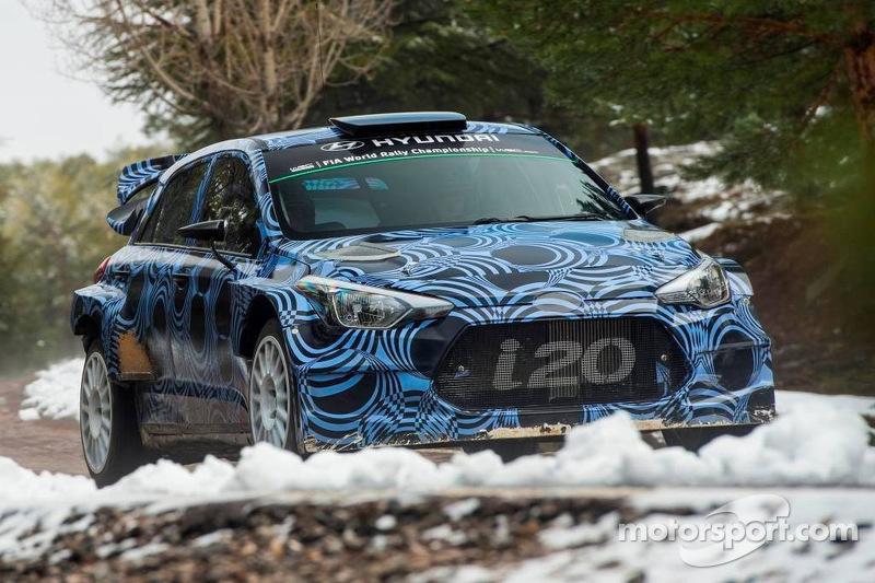 El prototipo de Hyundai i20 WRC 2015