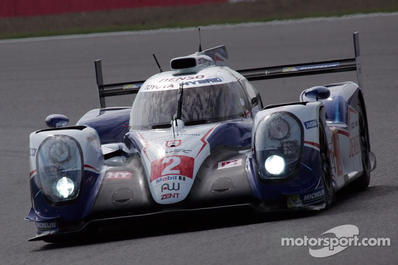 #2 Toyota Racing, Toyota TS040-Hybrid: Alexander Wurz, Stephane Sarrazin, Mike Conway