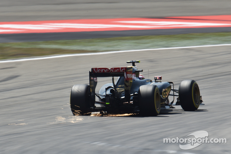 Pastor Maldonado, Lotus F1 E23 sdsf