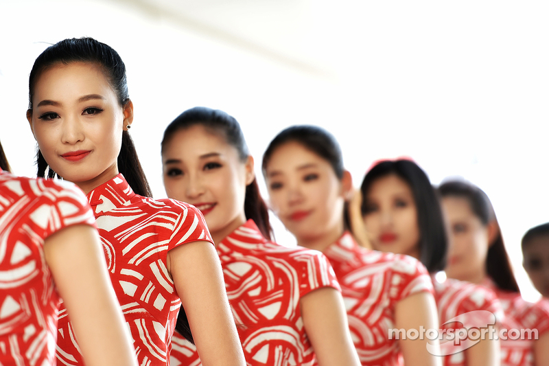 Chicas de las parrilla GP de Malasia