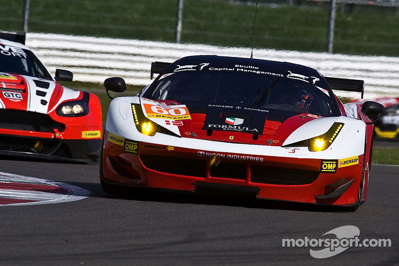 #60 Formula Racing Ferrari F458 Italia: Johnny Laursen, Mikkel Mac, Andrea Rizzoll