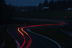 Luces de larga exposición en Nürburgring
