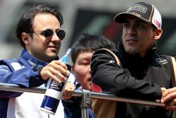 Фелипе Масса, Williams F1 Team и Пастор Мальдонадо, Lotus F1 Team