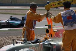 Даниил Квят, Red Bull Racing RB11 сходит из-за поломки двигателя