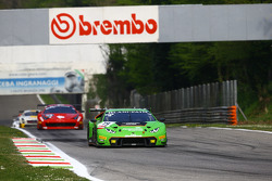 #19 GRT Grasser Racing Team,兰博基尼Huracan: Andrew Palmer, Fabio Babini, Jeroen Mul