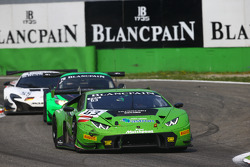 #63 GRT Grasser Racing Team,兰博基尼Huracan GT3: Giovanni Venturini, Adrian Zaugg, Mirko Bortolotti