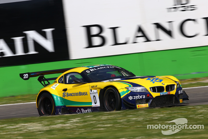 #1 BMW Sports Trophy Team Brasil BMW Z4: Caca Bueno, Sergio Jimenez, Felipe Fraga