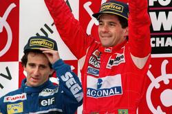 Ayrton Senna y Alain Prost, rivalidad histórica