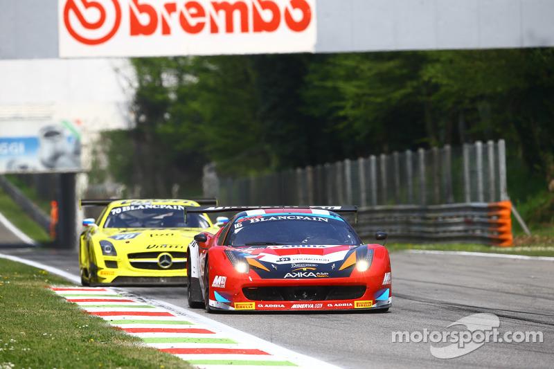 #16 Akka ASP, Ferrari 458 Italia: Fabien Barthez, Anthony Pons