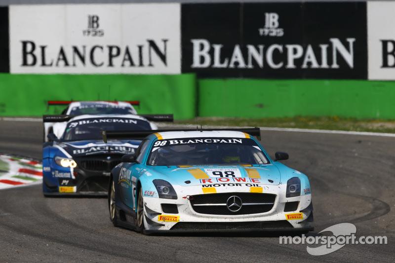 #98 Rowe的阿斯塔纳车队,梅赛德斯SLS AMG GT3: Nicolai Sylvest, Indy Dontje, Daniel Juncadella