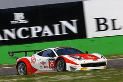 #25 Glorax Racing Ferrari 458 Italia: Fabio Mancini, Andrey Birzhin, Rino Mastronardi