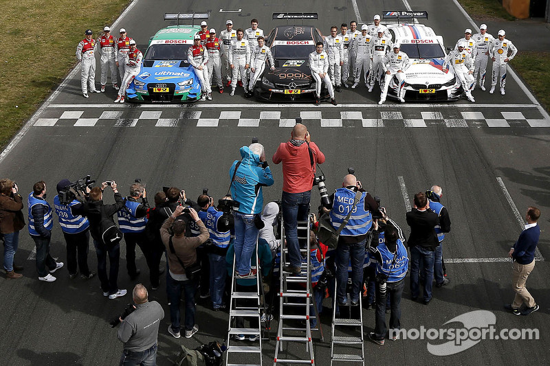 所有车手亮相DTM媒体日