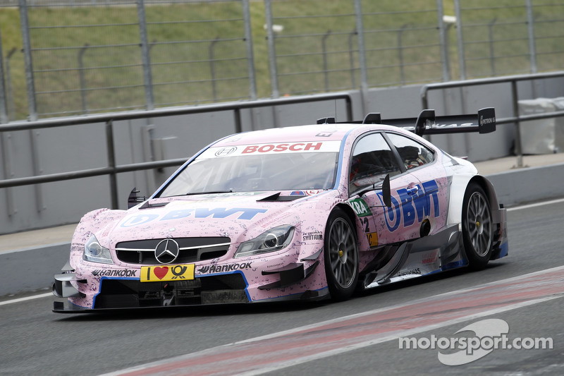 gary paffett art grand prix mercedes amg c63 dtm at oschersleben april test. Black Bedroom Furniture Sets. Home Design Ideas
