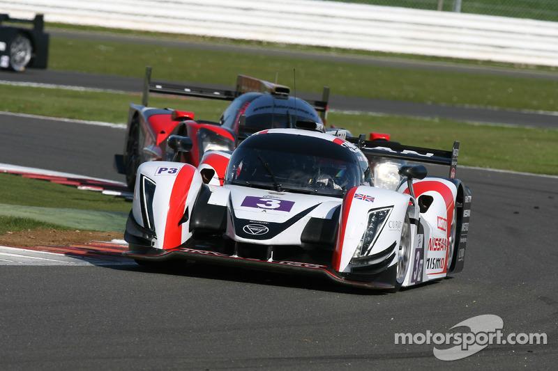 #3 Team LNT, Ginetta - Nissan: Chris Hoy, Charlie Robertson