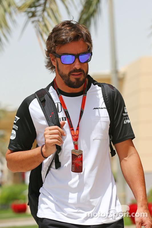 Fernando Alonso McLaren.