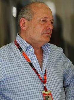 Ron Dennis, président exécutif de McLaren