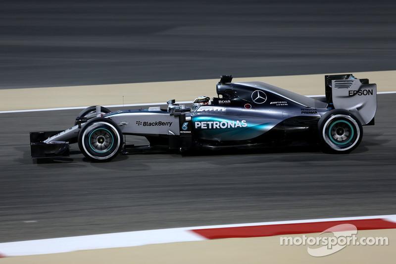 2015: Льюис Хэмилтон, Mercedes F1 W06 Hybrid