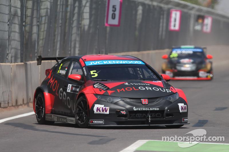 Norbert Michelisz, Honda Civic WTCC, Zengo_x0082_ Motorsport