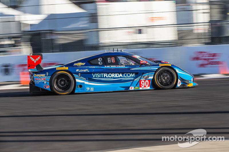 #90 VisitFlorida.com Racing, Corvette DP: Richard Westbrook, Michael Valiante