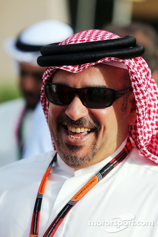 Putra Mahkota Shaikh Salman bin Isa Hamad Al Khalifa