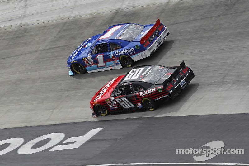 Chris Buescher, Roush Fenway Racing Ford, Elliott Sadler, Roush Fenway Racing Ford
