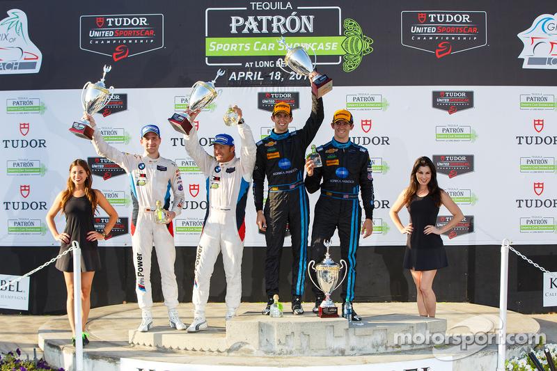 GTLM winners #25 BMW Team RLL BMW Z4 GTE: Bill Auberlen, Dirk Werner and Prototype winners #10 Wayne Taylor Racing Corvette DP: Ricky Taylor, Jordan Taylor