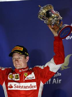 друге місце place Кімі Райкконен, Ferrari