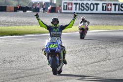 El ganador Valentino Rossi, Yamaha Factory Racing