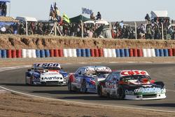 Carlos Okulovich, Maquin Parts Racing, Torino; Matias Rodriguez, UR Racing, Dodge; Jose Savino, Savino Sport, Ford