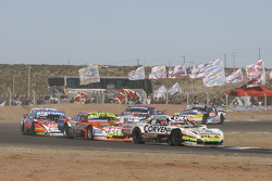 Juan Marcos Angelini, UR Racing, Dodge; Jonatan Castellano, Castellano Power Team, Dodge, und Guillermo Ortelli, JP Racing, Chevrolet