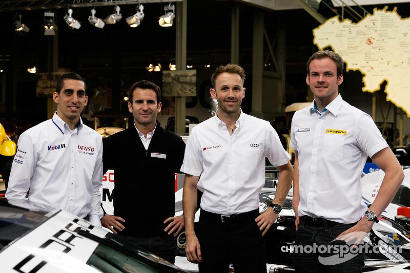Sébastien Buemi, Romain Dumas, René Rast, , dan Matt Howson