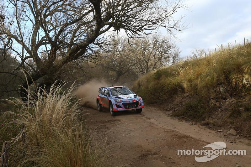 Dani Sordo und Marc Marti, Hyundai I20Wrc, Hyundai Motorsport