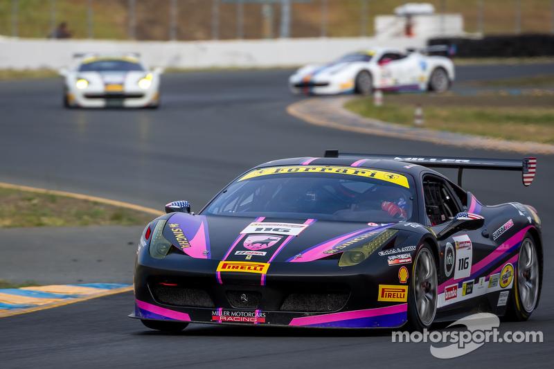 #116 Miller Motorcars, Ferrari 458: Al Delattre