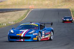 #105 Miller Motorcars Ferrari 458: Rodney Rта all