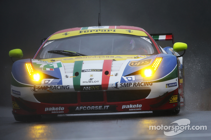 #71 AF Corse 法拉利F458 Italia Davide Rigon, James Calado