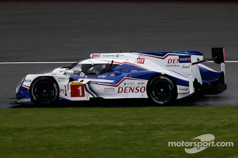 #1 Toyota Racing, Toyota TS040 Hybrid: Anthony Davidson, Sébastien Buemi, Kazuki Nakajima