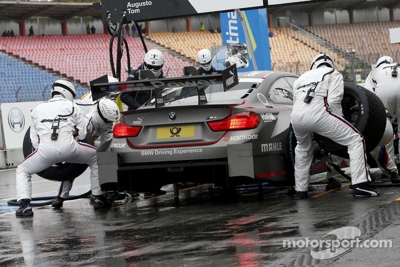 Pitstop, Tom Blomqvist, BMW Team RBM BMW M4 DTM