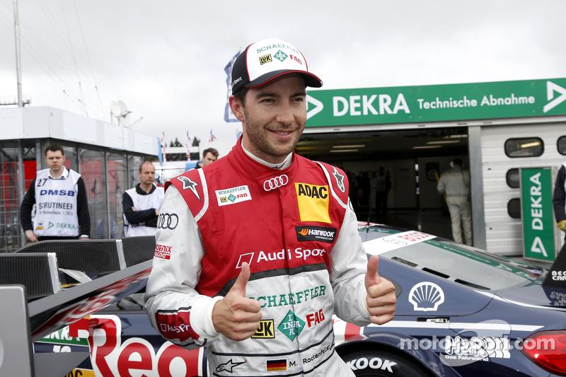 Pole-Position 2. Rennen: Mike Rockenfeller, Audi Sport Team Phoenix, Audi RS 5 DTM