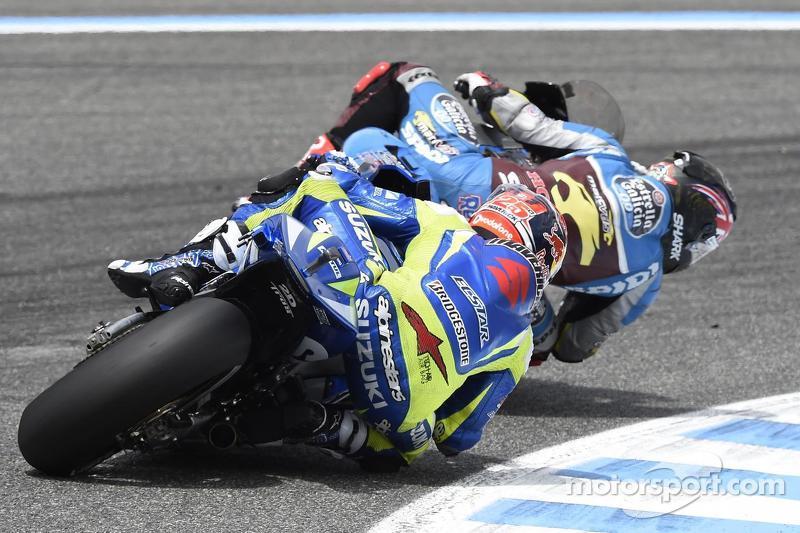 Scott Redding, Marc VDS Racing, Honda, und Maverick Viñales, Team Suzuki MotoGP