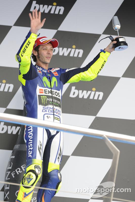 Terceiro Valentino Rossi, Yamaha Factory Racing