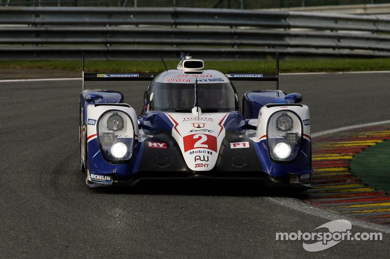 #2 Toyota Racing, Toyota TS040-Hybrid Hybrid: Alexander Wurz, Stéphane Sarrazin, Mike Conway