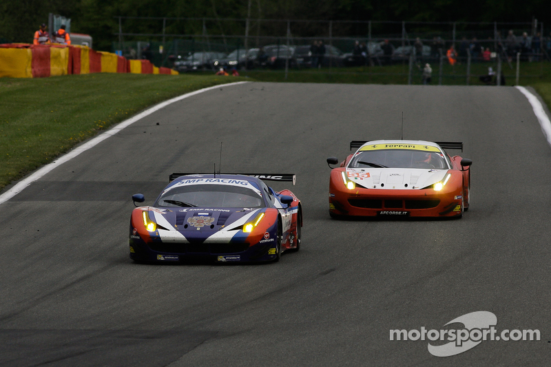 #72 SMP Racing, Ferrari F458 Italia: Victor Shaitar, Andrea Bertolini, Aleksey Basov